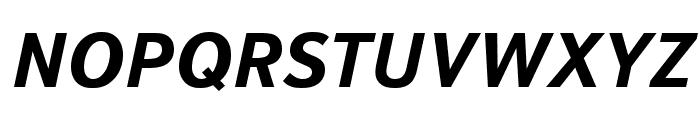 Textbook New Bold Italic Font UPPERCASE