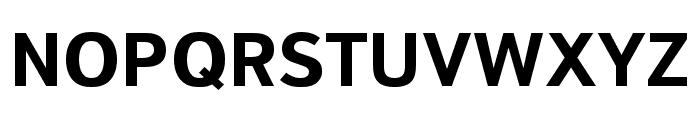 Textbook New Bold Font UPPERCASE