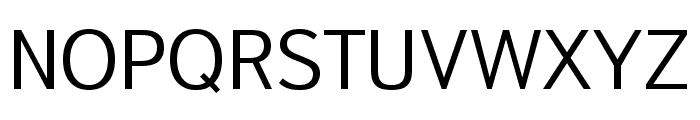 Textbook New Light Font UPPERCASE