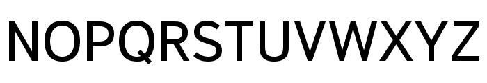 Textbook New Regular Font UPPERCASE