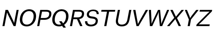 Thonglor Italic Font UPPERCASE