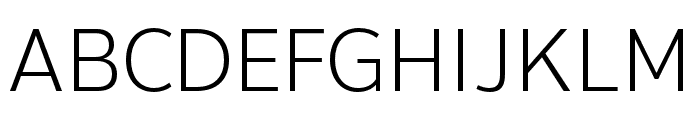 Thongterm Light Font UPPERCASE