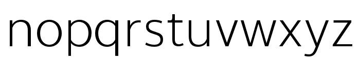 Thongterm Light Font LOWERCASE