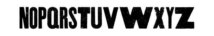 Thunderhouse Pro Regular Font UPPERCASE