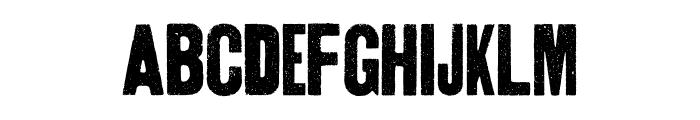 Thunderhouse Pro Regular Font LOWERCASE