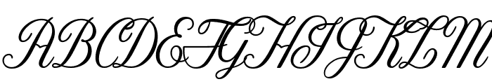 Tilda Grande Font UPPERCASE
