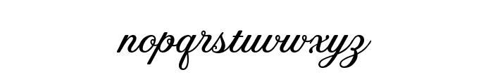 Tilda Grande Font LOWERCASE