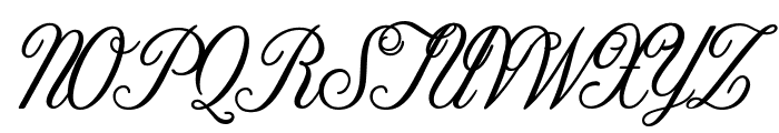 Tilda Petite Font UPPERCASE