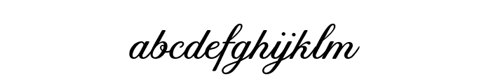 Tilda Petite Font LOWERCASE