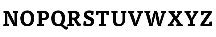 Tisa Pro Bold Font UPPERCASE