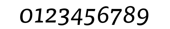 Tisa Pro Regular Italic Font OTHER CHARS