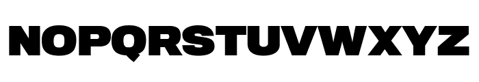 TitlingGothicFB Extended Black Font UPPERCASE