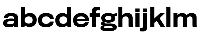 TitlingGothicFB Extended Medium Font LOWERCASE