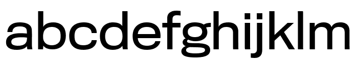 TitlingGothicFB Extended Regular Font LOWERCASE