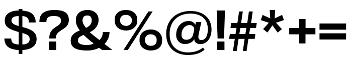 TitlingGothicFB Extended Standard Font OTHER CHARS