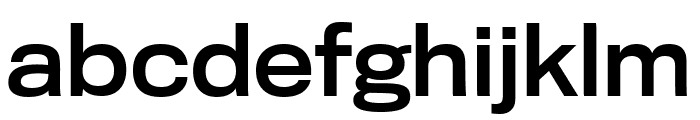 TitlingGothicFB Extended Standard Font LOWERCASE