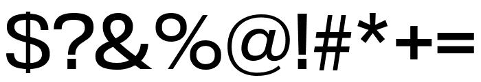 TitlingGothicFB Skyline Regular Font OTHER CHARS