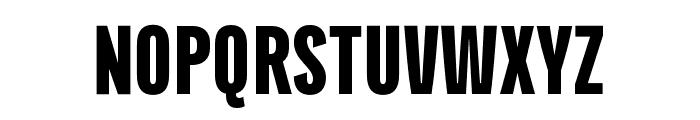 Titular Alt Heavy Font UPPERCASE