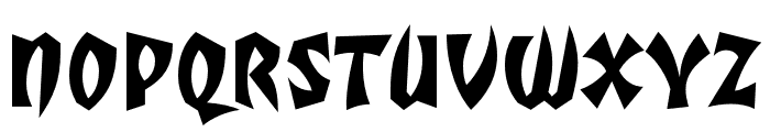 TotallyGothic OT WideCaps Font UPPERCASE