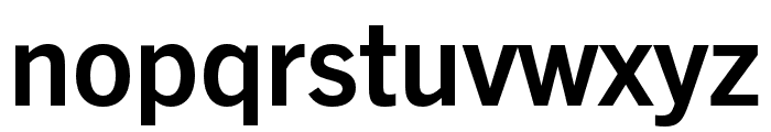 Trade Gothic Next SR Pro Bold Condensed Font LOWERCASE