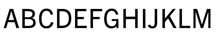 Trade Gothic Next SR Pro Condensed Font UPPERCASE