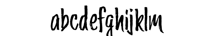 Trailmade Regular Font LOWERCASE