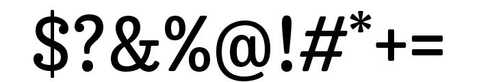 Trevor Regular Font OTHER CHARS