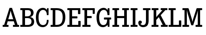 Trevor Regular Font UPPERCASE
