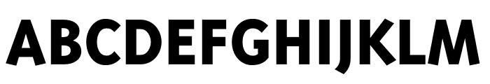 Triplex Cond Sans OT Black Font UPPERCASE