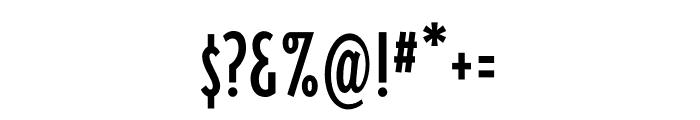 Triplex Cond Sans OT Reg Font OTHER CHARS