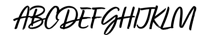 Turbinado Pro Regular Font UPPERCASE
