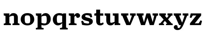 TurnipRE Bold Font LOWERCASE