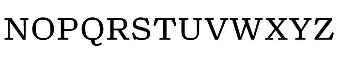 TurnipRE Regular Font UPPERCASE