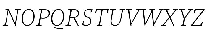 Tzimmes SemiBold Italic Font UPPERCASE