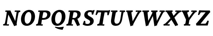 Tzimmes UltraBold Italic Font UPPERCASE