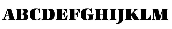 URW Antiqua Alternative Super Bold Font UPPERCASE