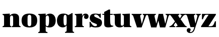 URW Antiqua Alternative Super Bold Font LOWERCASE