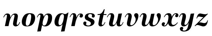 URW Antiqua Bold Oblique Font LOWERCASE