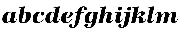 URW Antiqua Extra Narrow Bold Oblique Font LOWERCASE