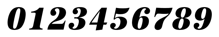 URW Antiqua Extra Narrow Extra Bold Oblique Font OTHER CHARS