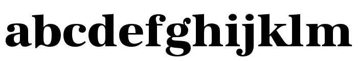 URW Antiqua Extra Wide Bold Font LOWERCASE