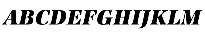 URW Antiqua Extra Wide Extra Bold Oblique Font UPPERCASE