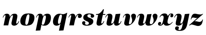 URW Antiqua Extra Wide Extra Bold Oblique Font LOWERCASE