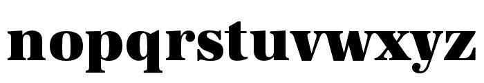 URW Antiqua Extra Wide Extra Bold Font LOWERCASE