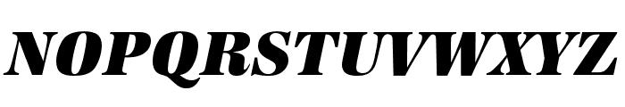 URW Antiqua Extra Wide Ultra Bold Oblique Font UPPERCASE