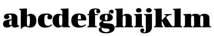 URW Antiqua Extra Wide Ultra Bold Font LOWERCASE