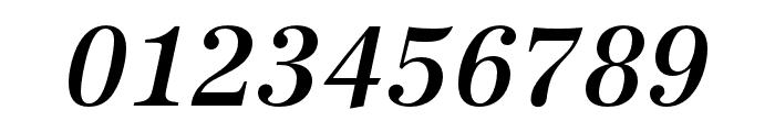 URW Antiqua Narrow Medium Oblique Font OTHER CHARS