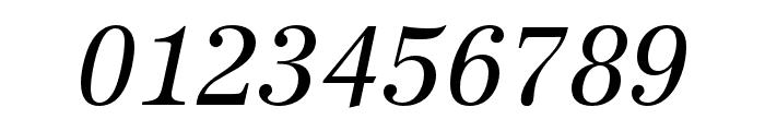 URW Antiqua Narrow Regular Oblique Font OTHER CHARS