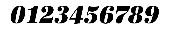 URW Antiqua Narrow Ultra Bold Oblique Font OTHER CHARS