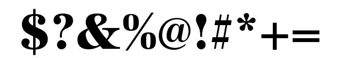 URW Antiqua Wide Bold Font OTHER CHARS